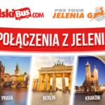 Nowe podróże łączone Polskiego Busa we współpracy z PKS Tour Jelenia Góra!