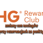 Zmiana cen rezerwacji punktowych w IHG Rewards Club w 2018 roku