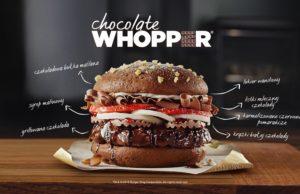 Burger King Czekoladowy Whopper