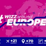 Wizz Air świętuje uruchomienie 4 nowych tras w Polsce #WIZZaroundEUROPE