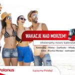 Startuje letni rozkład jazdy Polonusa – rusza wakacyjna przedsprzedaż biletów do nadmorskich i mazurskich kurortów