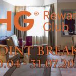 IHG Rewards Club Point Breaks 30.04 – 31.07.2018 – pełna lista hoteli