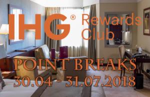 IHG Rewards Club Point Breaks