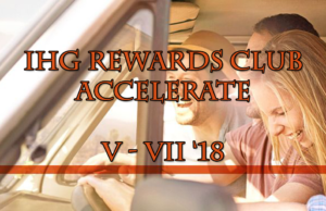 IHG Rewards Club Accelerate q2