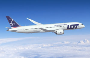 LOT Boeing B787 9 Dreamliner
