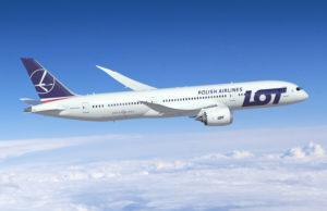 LOT Boeing B787 9 Dreamliner