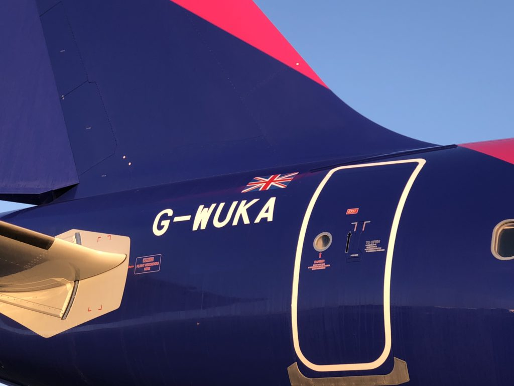 Wizz Air UK W-UKA