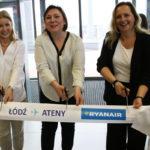 Nowe połączenie Ryanair z Łodzi do Aten wystartowało!