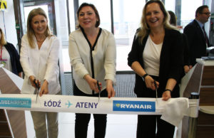 Ryanair Łódź Ateny