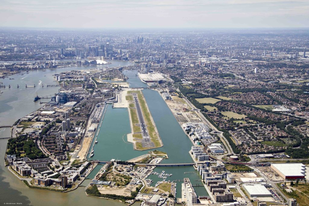 LOT London City Airport
