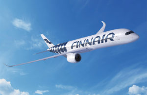 Finnair A350 Marimekko