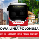Rusza nowa linia Polonus z Warszawy do Szczawnicy