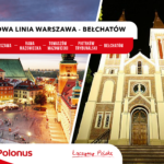 Startuje nowa linia Polonus Warszawa-Rawa Mazowiecka-Tomaszów Mazowiecki-Piotrków Trybunalski-Bełchatów!
