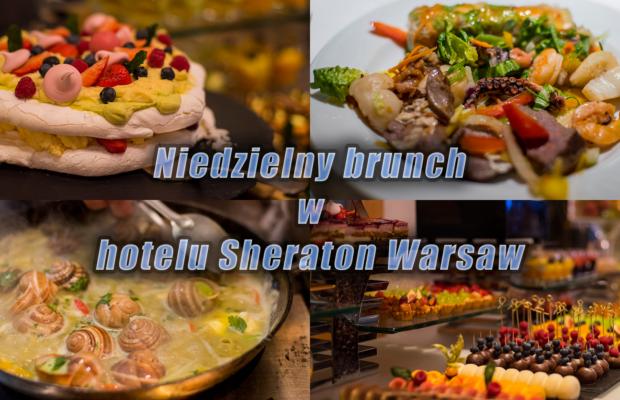 Niedzielny brunch w hotelu Sheraton Warsaw