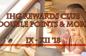 IHG Rewards Club Double Points and more