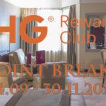 IHG Rewards Club Point Breaks 24.09 – 30.11.2018 – pełna lista hoteli