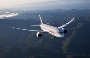 Boeing 787 Dreamliner Qatar Airways