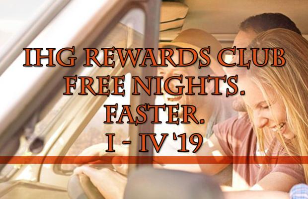 IHG Rewards Club Faster