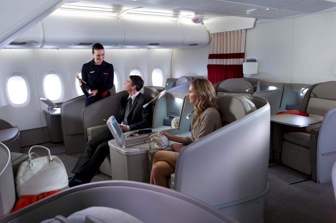 luksusowy produkt air france klm dla pasa er w klasy biznes i klasy pierwszej lubi podr e. Black Bedroom Furniture Sets. Home Design Ideas