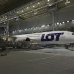 Drugi Boeing 787 Dreamilner LOT-u został już pomalowany