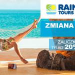 W Rainbow Tours bezpłatnie zmieniasz termin wakacji