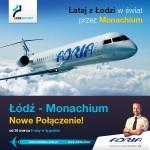 30 marca ruszy nowe połączenie z Łodzi do Monachium