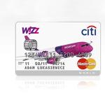 Koniec karty kredytowej Citibank Wizz Air MasterCard!