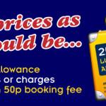 Nowa pula biletów od 1 GBP przewoźnika autokarowego MegaBus – Anglia, Niemcy, Holandia, Francja oraz Belgia!