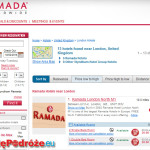 50 tysięcy pokoi za 100 zł w Wielkiej Brytanii w hotelach sieci Ramada