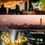 """Promocja """"Szalona Środa"""" LOT'u – 05.02.2014r. Sankt Petersburg 559zł, Kair 749 zł oraz Chicago 1998 zł"""