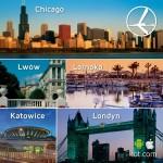 """Promocja """"Szalona Środa"""" LOT'u – 04.12.2013r. Chicago, Londyn, Lwów, Larnaka oraz Katowice!"""
