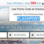 Kolejna promocja TravelPony – dla pierwszych 1000 osób!